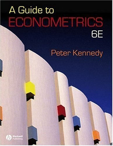 Guide to Econometrics  6th 2008 (Revised) edition cover