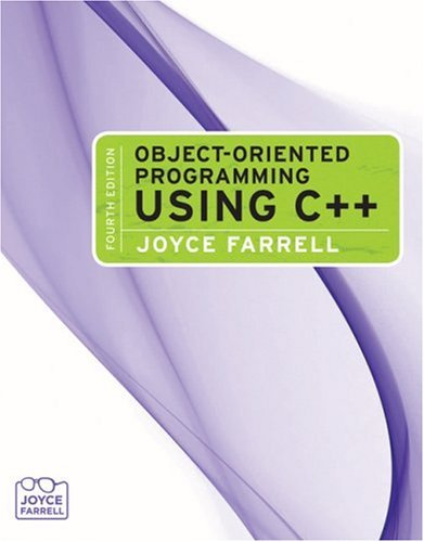 Object-Oriented Programming Using C++  4th 2009 edition cover