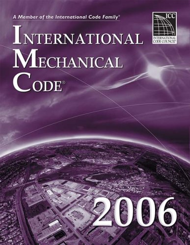 International Mechanical Code 2006   2006 edition cover