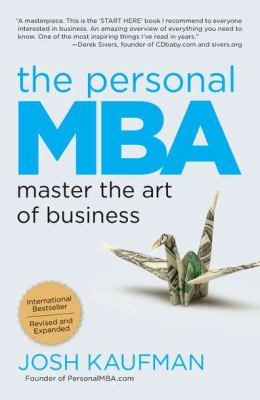 Personal MBA Master the Art of Business N/A 9781591845577 Front Cover