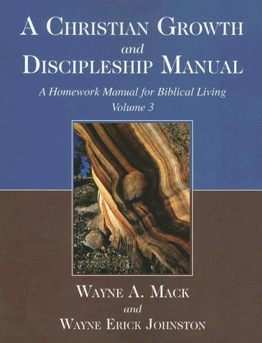 CHRISTIAN GROWTH+DISCIPLESHIP 1st edition cover