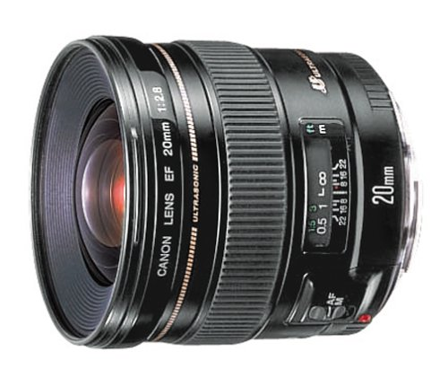 Canon EF 20mm f/2.8 USM Wide-Angle Fixed Lens product image