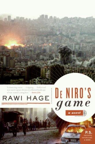 De Niro's Game   2008 edition cover