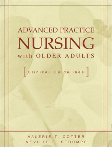 Advanced Practice Nursing with Older Adults   2002 edition cover