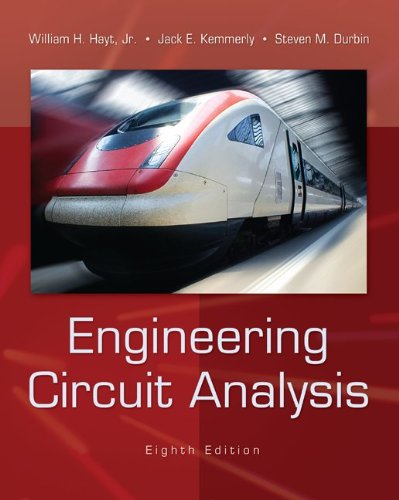 Engineering Circuit Analysis  8th 2012 edition cover