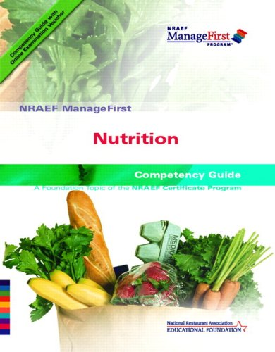 Managefirst Nutrition   2007 9780135072578 Front Cover