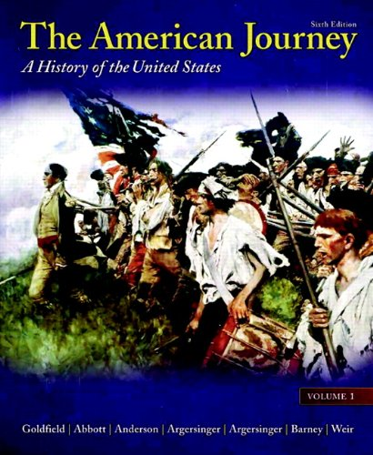 The American Journey:  6th 2010 edition cover