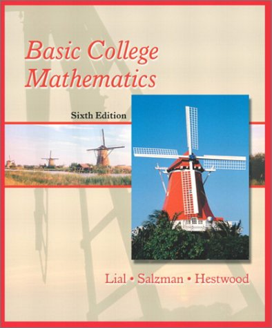 Basic College Mathematics  6th 2002 9780321064578 Front Cover