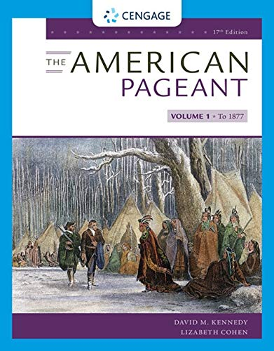 American Pageant  17th 2020 (Revised) 9780357030578 Front Cover