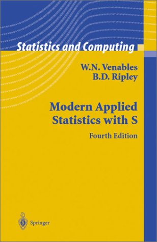 Modern Applied Statistics with S  4th 2002 (Revised) edition cover