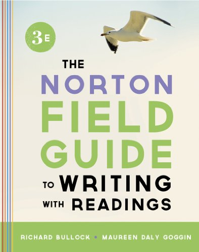 Norton Field Guide to Writing, with Readings  3rd 2013 9780393919578 Front Cover