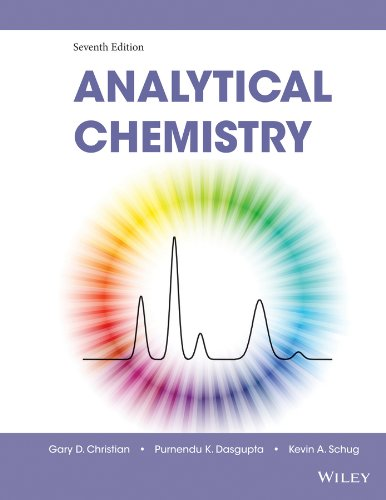 Analytical Chemistry  7th 2014 edition cover