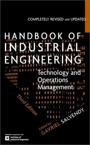Handbook of Industrial Engineering Technology and Operations Management 3rd 2001 (Revised) edition cover