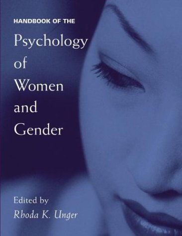 Handbook of the Psychology of Women and Gender   2001 9780471653578 Front Cover