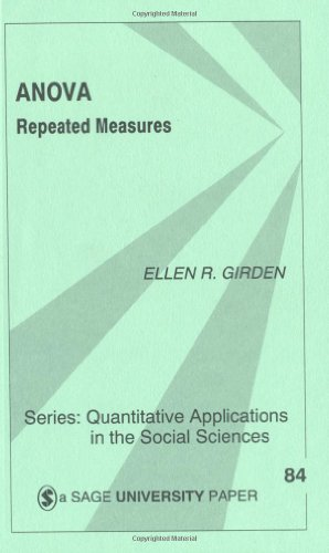 Anova Repeated Measures  1991 edition cover