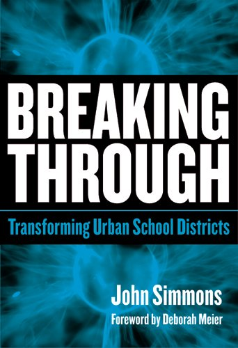 Breaking Through Transforming Urban School Districts  2006 edition cover