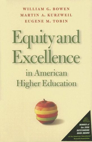 Equity and Excellence in American Higher Education   2008 edition cover