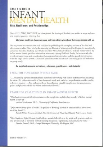 Case Studies in Infant Mental Health Risk, Resiliency, and Relationships  2002 edition cover
