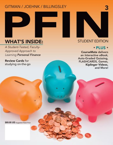Pfin3 + Finance Coursemate and Ebook Printed Access Card:   2013 9781285082578 Front Cover