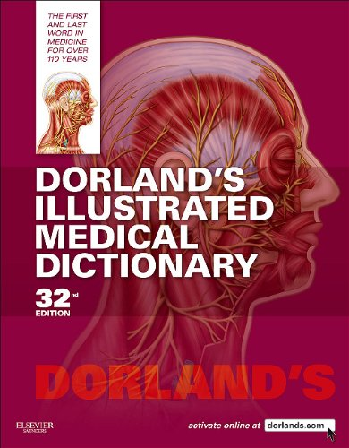Dorland's Illustrated Medical Dictionary  32nd 2011 edition cover