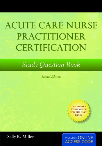 Acute Care Nurse Practitioner Certification  2nd 2011 edition cover
