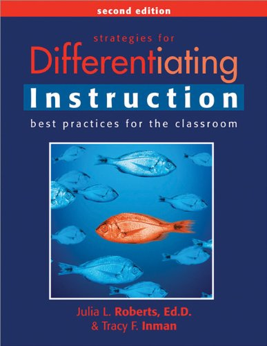 Strategies for Differentiating Instruction Best Practices for the Classroom 2nd 2008 (Revised) edition cover