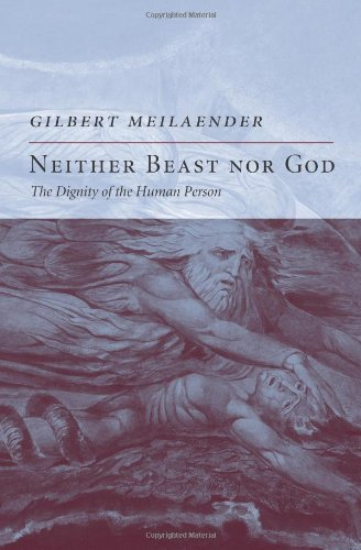 Neither Beast nor God The Dignity of the Human Person  2009 9781594032578 Front Cover