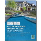 2012 International Residential Code Study Companion N/A edition cover