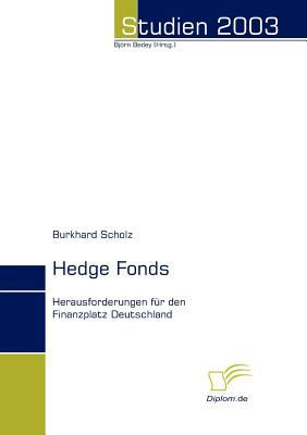 Hedge Fonds   2008 9783832480578 Front Cover