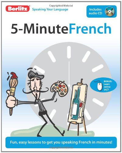5-Minute French   2009 edition cover