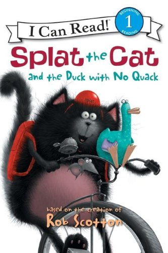 Splat the Cat and the Duck with No Quack  N/A edition cover