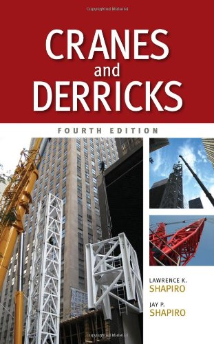 Cranes and Derricks  4th 2011 edition cover