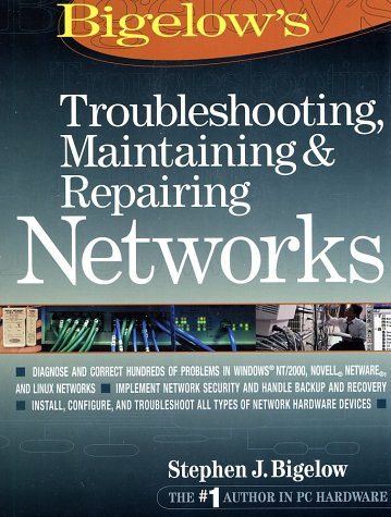 Troubleshooting, Maintaining and Repairing Networks   2002 9780072222579 Front Cover