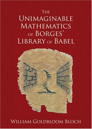 Unimaginable Mathematics of Borges' Library of Babel   2008 edition cover