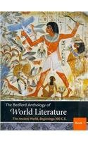 Bedford Anthology of World Literature Volumes 1 and 2 And 3  N/A edition cover
