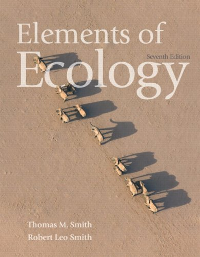 Elements of Ecology  7th 2009 edition cover