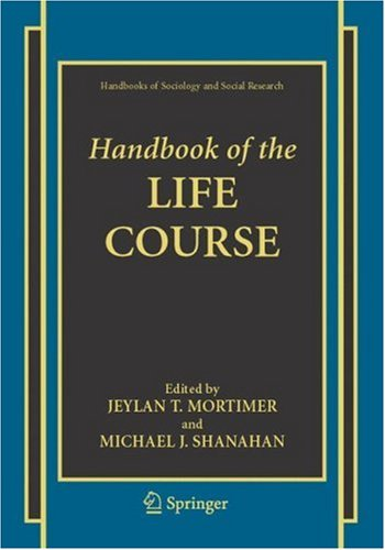 Handbook of the Life Course   2003 edition cover