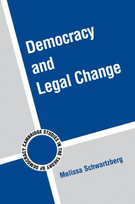 Democracy and Legal Change   2009 9780521146579 Front Cover