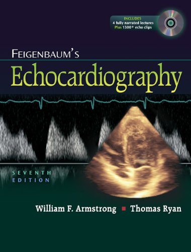 Feigenbaum's Echocardiography  7th 2010 (Revised) edition cover