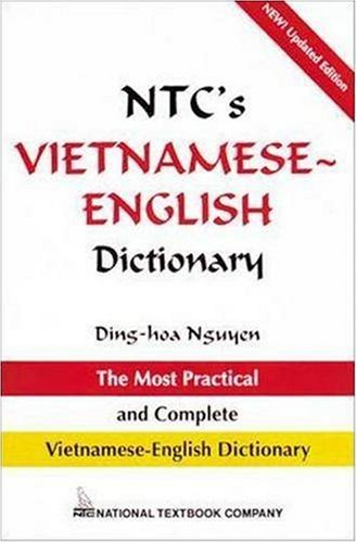 NTC's Vietnamese - English Dictionary   1995 (Revised) edition cover