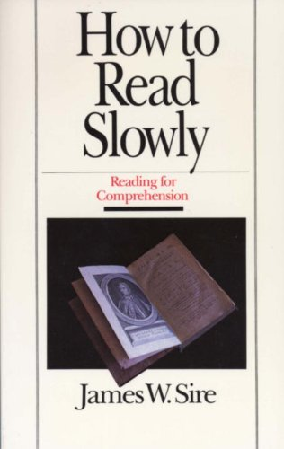 How to Read Slowly  2nd edition cover