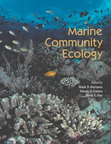 Marine Community Ecology   2001 edition cover