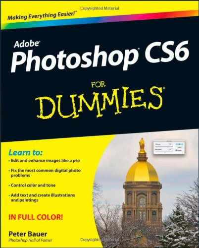 Photoshop CS6 for Dummies�   2012 edition cover