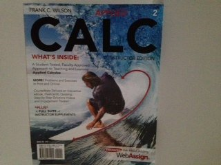 APPLIED CALC >INSTR.ED<                 N/A 9781285171579 Front Cover