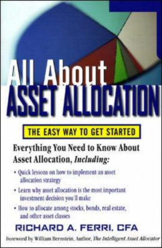 Asset Allocation The Easy Way to Get Started  2006 edition cover