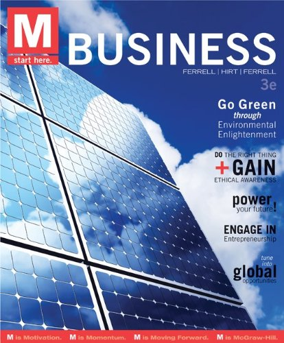 M: Business  3rd 2013 edition cover