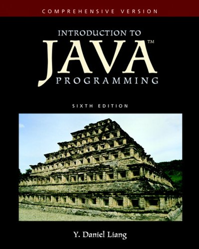 Introduction to Java Programming Comprehensive Version 6th 2007 (Revised) edition cover