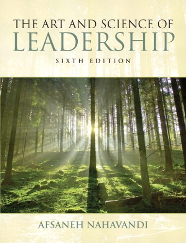 Art and Science of Leadership  6th 2012 (Revised) edition cover