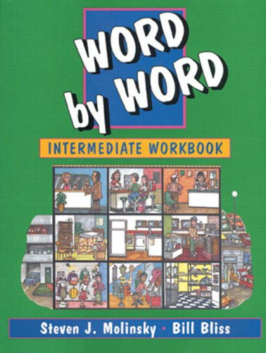 Intermediate Word by Word   1995 (Workbook) 9780132784580 Front Cover