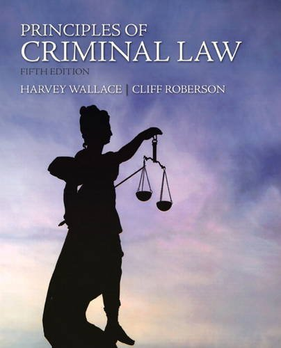 Principles of Criminal Law  5th 2012 (Revised) edition cover